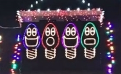 Christmas Mini Light Bulbs