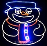 Animated Christmas Character For Use With Light O Rama
