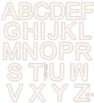 Letters for Pixels - 2 Feet / 59 cm Tall / Letters A to Z / Numbers 0 to 9 / Punctuation