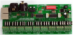27 Channel DMX Controller for RGB Lights - 12v DC
