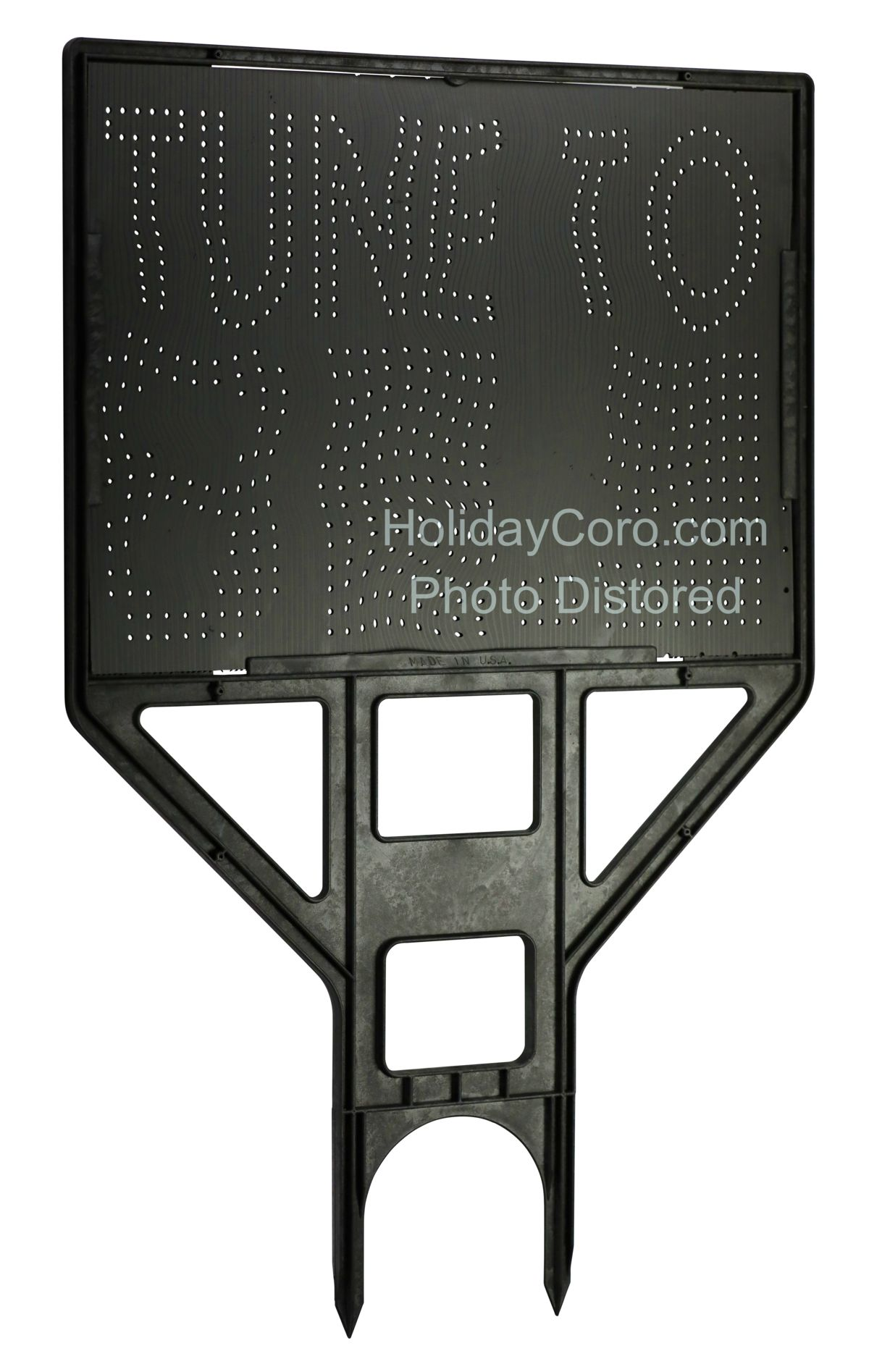 Fm Radio Frequency Quot Tune To Quot Sign For Animated Holiday