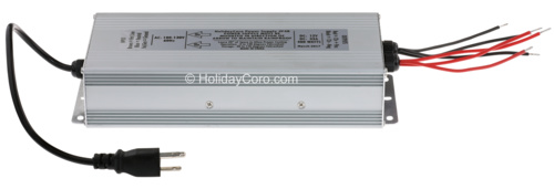 Rain Proof Power Supply - 12v / 33 amps / 400 Watts / 110-120v Input Only (USA/CA/MX)