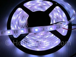 DISCONTINUED: Dumb LED RGB Strip 30 LEDs per Meter Waterproof (16ft-6in Roll) - 12v