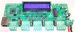 "DISCONTINUED:  AlphaPixâ""¢ 4 V1 - E1.31 & ArtNet to SPI Pixel Controller w/LCD Display - 4 SPI + 1 RS485 Outputs"