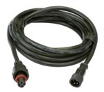EasyPlug4 / 4 Conductor / 10ft / Screw Together Extension / Waterproof Male + Female (18 AWG) / RGB Dumb Lights