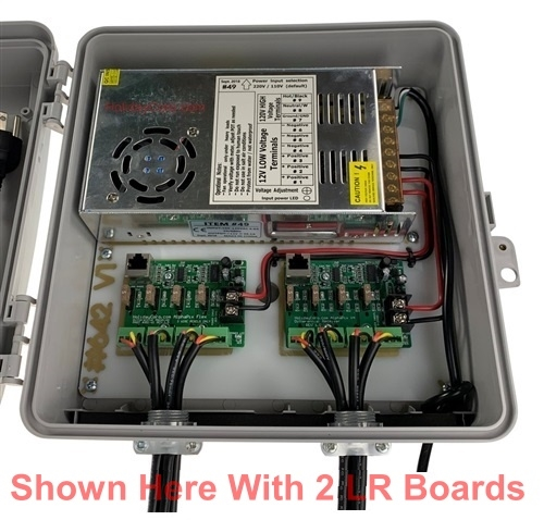 Flex Expansion Board System Long Range Receivers / 350 Watts of Power / 4 or 8 EasyPlug3 Pigtails / Ready2Run Assembled