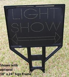 OFFSPEC:  Light Show Directional Arrow Sign