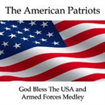 God Bless The USA and Armed Forces Medley by American Patriots (16w x 50h Pixel Sequence)