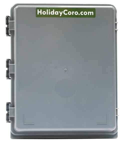 HolidayCoro HC-2500 Controller and Power Supply Mounting Enclosure Housing