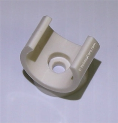 "DISCONTINUED: 1/2"" PVC Pipe Mounting Clip / Mounts RGB Strips and Modules to Fascia, Soffit, Roofs and Walls (single clip)"