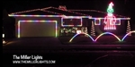 House Outline in RGB Lights / Pixels / Strip Ribbon Lights - 132 Feet Coverage / Ready2Run Assembled