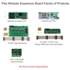 Flex Expansion Board System with AlphaPix Evolution or HinksPix Pro CPU - E1.31 Modular Lighting Controller System